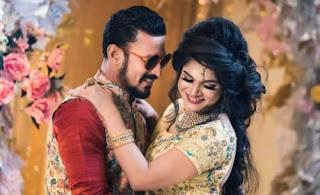 Cricketer Nasir And Tamima Tammi At Wedding
