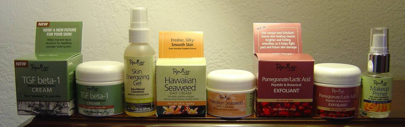 Reviva Labs Seaweed Skin Care Assortment and makeup primer.jpeg