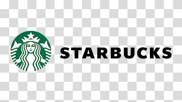Starbucks Logo With Wordmark Horizontal