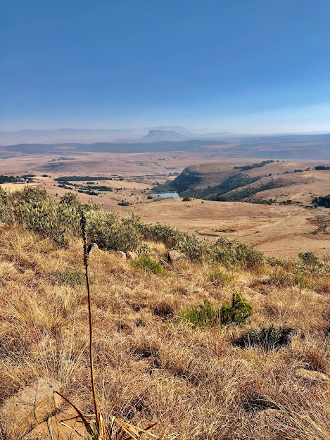 Hike in Drakensberg, South Africa