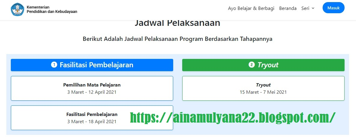 Link dan Jadwal Pendaftaran Guru Belajar Seri PPPK