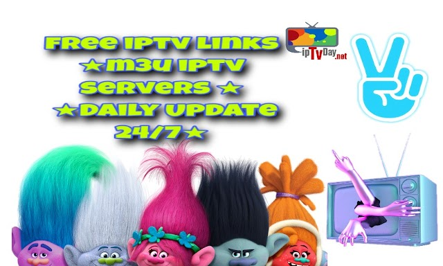 Get your iptv servers FOR FREE M3U PLAYLIST 30-10-2018 ★Daily Update 24/7★