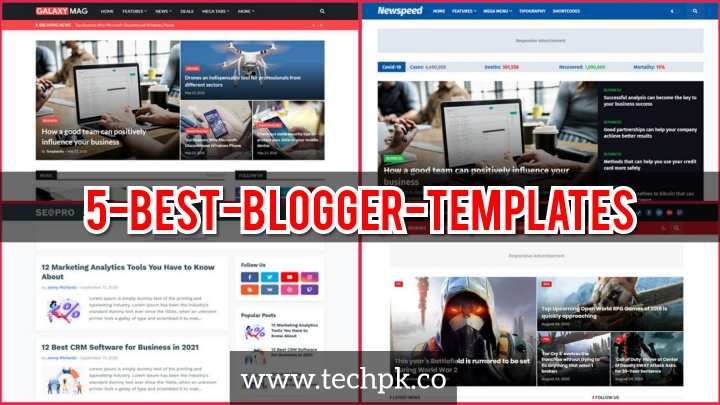 5 Best Blogger Template Recommendations on Templateify.com