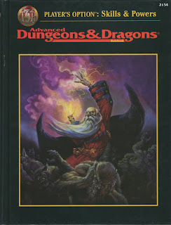 AD&D Player's Option: Skills & Powers