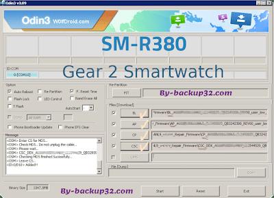 سوفت وير هاتف Gear 2 Smartwatch موديل SM-R380 روم الاصلاح 4 ملفات تحميل مباشر