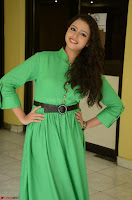 Geethanjali in Green Dress at Mixture Potlam Movie Pressmeet March 2017 038.JPG