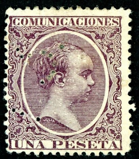 Spain 1889 Alfonso XIII of Spain