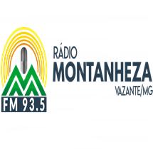 Ouvir agora Rádio Montanheza FM 93,5 - Vazante / MG