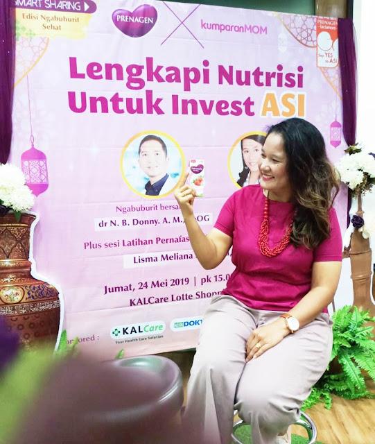 Prenagen Lengkapi Nutrisi Untuk Invest ASI