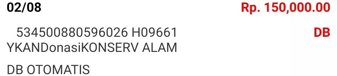 Donasi Agustus 2021 Android31 PPOB STORE dan Bad Rabbit Merch