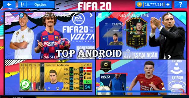 تحميل لعبة دريم ليج 2020 مود فيفا 20 || FIFA 20 Mod DLS 2020 (كل