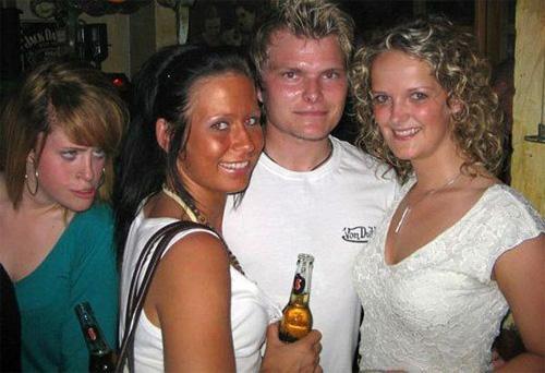 ruined group photo