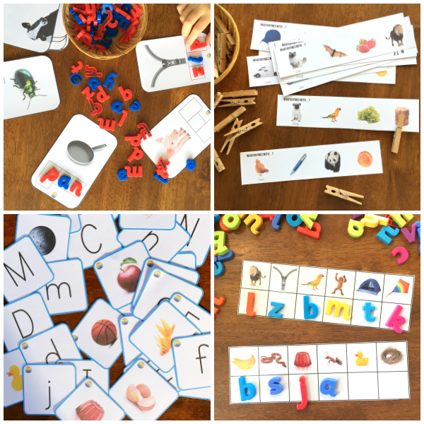 Printable Phonological Awareness Pack 1 - Beginners  | you clever monkey