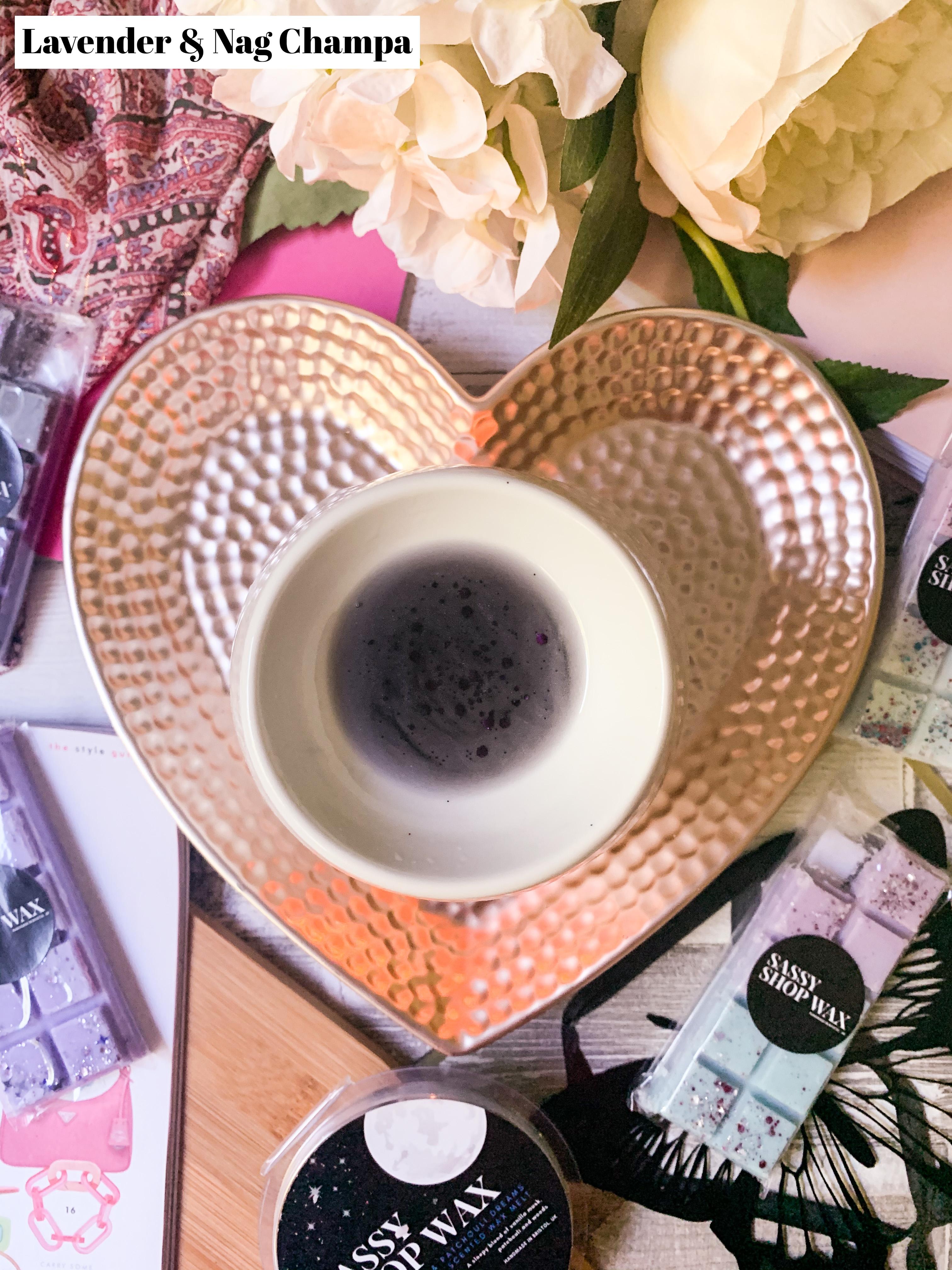 Lavender & Nag Champa Wax Melt
