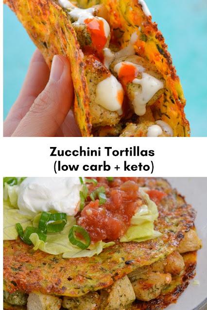 Keto Tortillas (low carb + keto) 