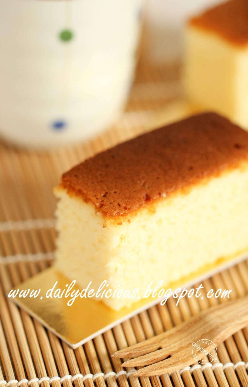 Castella Cake Recipe Singapore