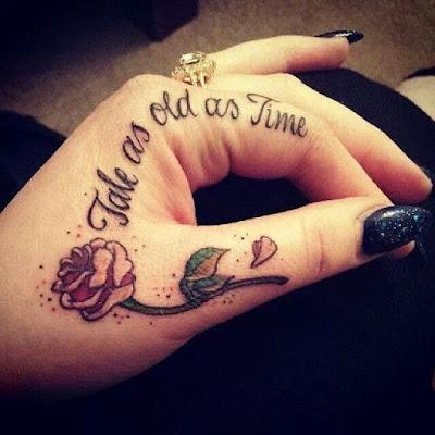 tato bunga di tangan