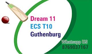 Today Match Prediction SeaSide vs Jonkoping ECS 5th T10 Gothernburg CBTF Win Tips