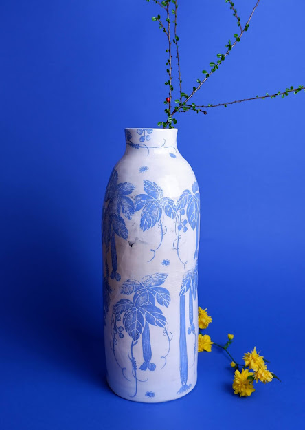 vaso arredamento design ceramica