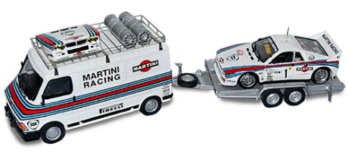 collezione rally monte carlo, Fiat 242 Martini Racing 1:43