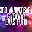3rd Annivesarry GA Blog by Emas Putih
