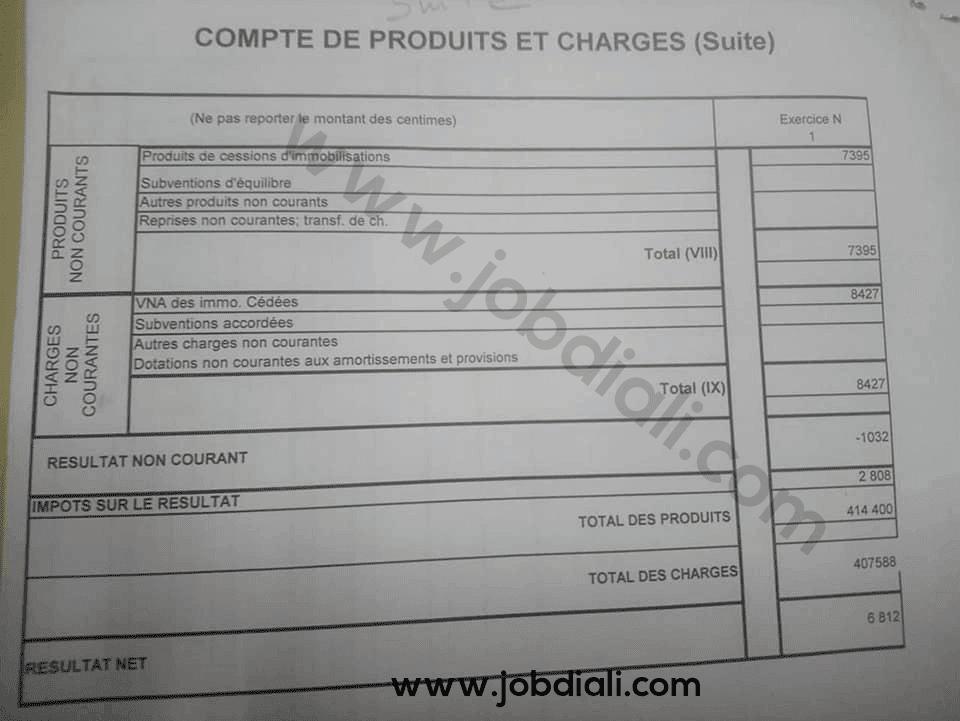 Exemple Concours de Recrutement des Cadres 2014 - Office National de l'Electricité et de l'Eau Potable (ONEE)
