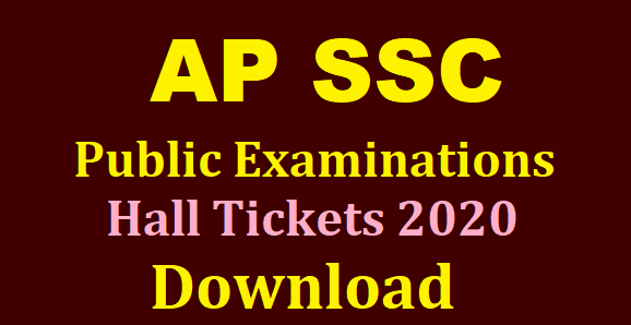 AP SSC/10th Class Hall Tickets Download @bseap.org /2020/03/AP-SSC-10th-Class-Hall-Tickets-Download-bseap.org.html