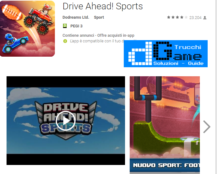 Trucchi Drive Ahead! Sports Mod Apk Android v1.5.0