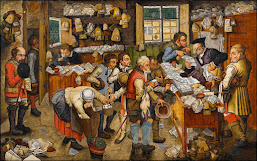 Pieter Brueghel the Younger, The Payment of the Tithes  (c. 1620)