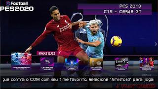 PES 2020 PPSSPP ANDROID Offline Com Libertadores, Câmera de PS4 & Faces Realistas + DOWNLOAD