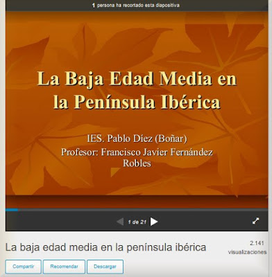 https://es.slideshare.net/xavifer/la-baja-edad-media-en-la-pennsula-ibrica-5908456