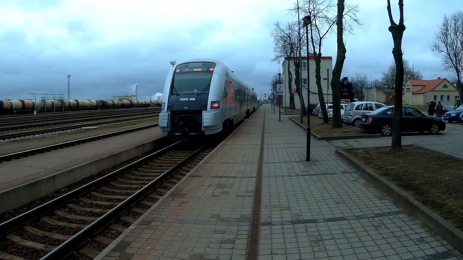 Поезд Pesa 730 ML