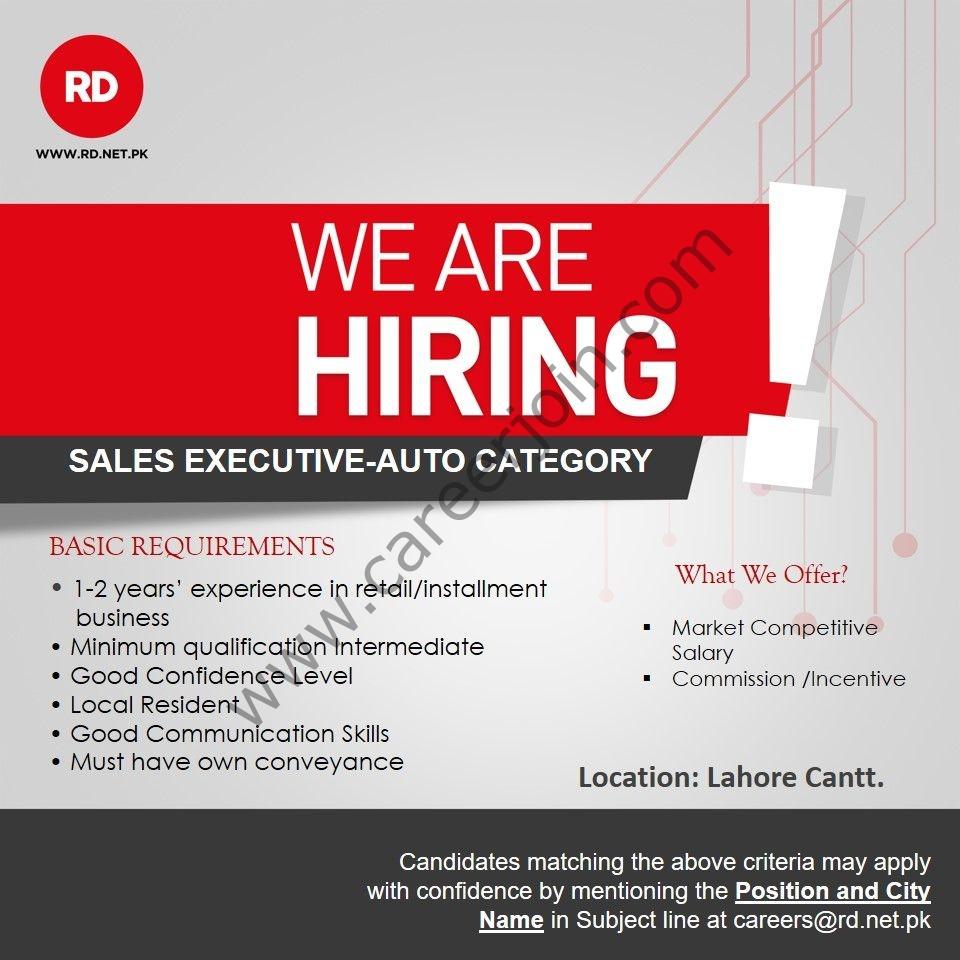 Ruba Digital Pvt Ltd RD Jobs 2021 in Pakistan