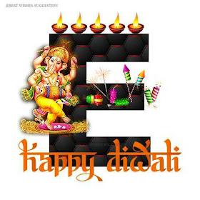 Diwali-E-Alphabet-Images