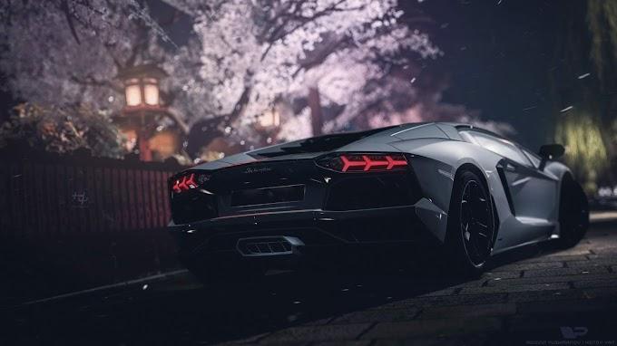Lamborghini Aventador Cinza