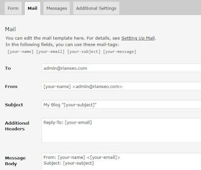 Cara Membuat Tombol atau Formulir Kontak di Blogger dan Wordpress