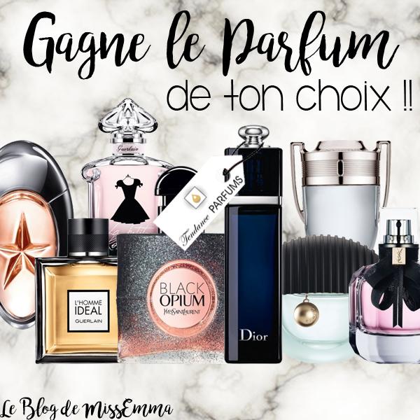 Le Blog de MissEmma • Concours • Tendance Parfums