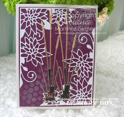 cattails card front