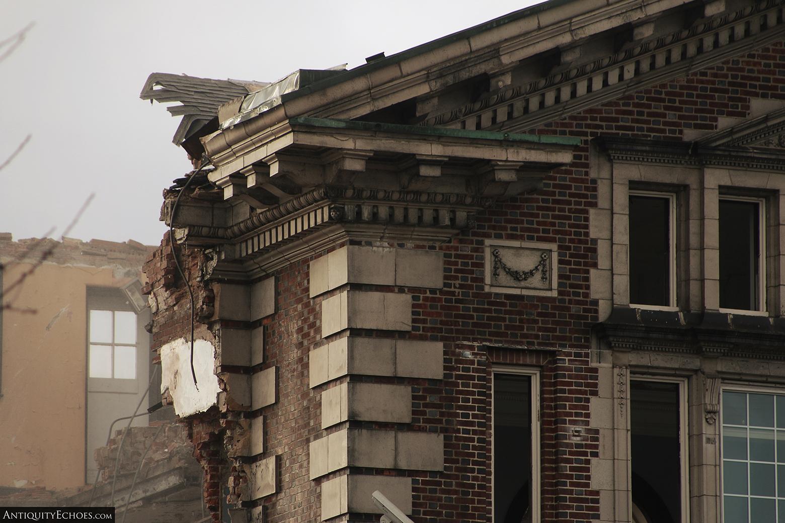 Allentown State Hospital - Demolition - Beautiful Stonework