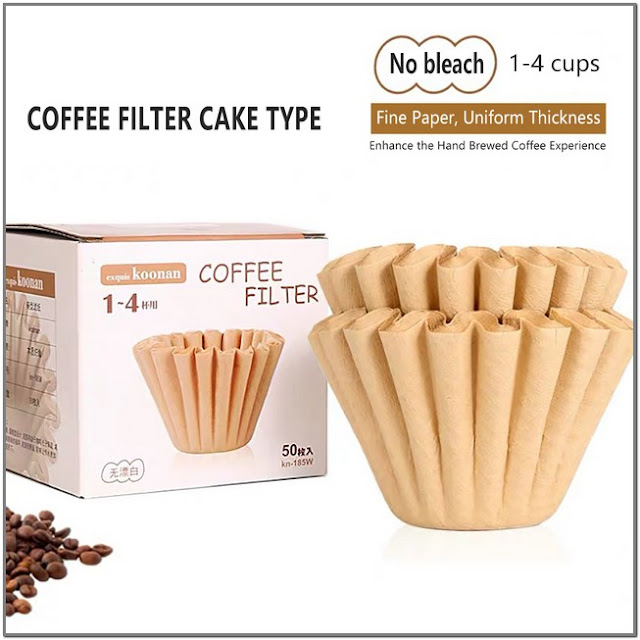 Natural Unbleached Brown Biodegradable Coffee Filters Paper;Large Coffee Filters Walmart;