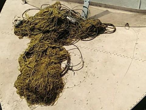 Поліція Білоцерківщини виявила браконьєрські сітки в річці Рось