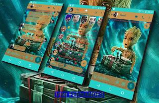 Groot Theme For YOWhatsApp & KM WhatsApp By Vinícius