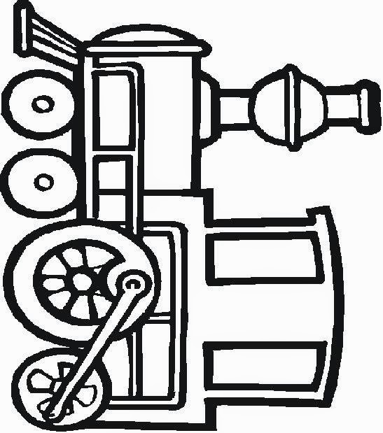 Train Coloring Pages And Activities