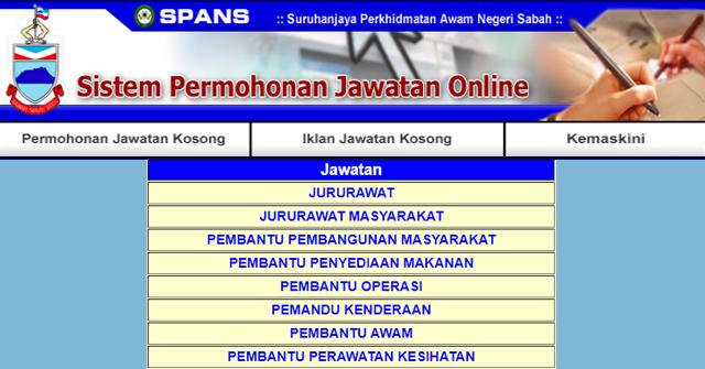 Minima Pt3 Pmr Pun Boleh Mohon Kerajaan Negeri Sabah Buka 103 Jawatan Kosong Terkini Mingguan Kerja