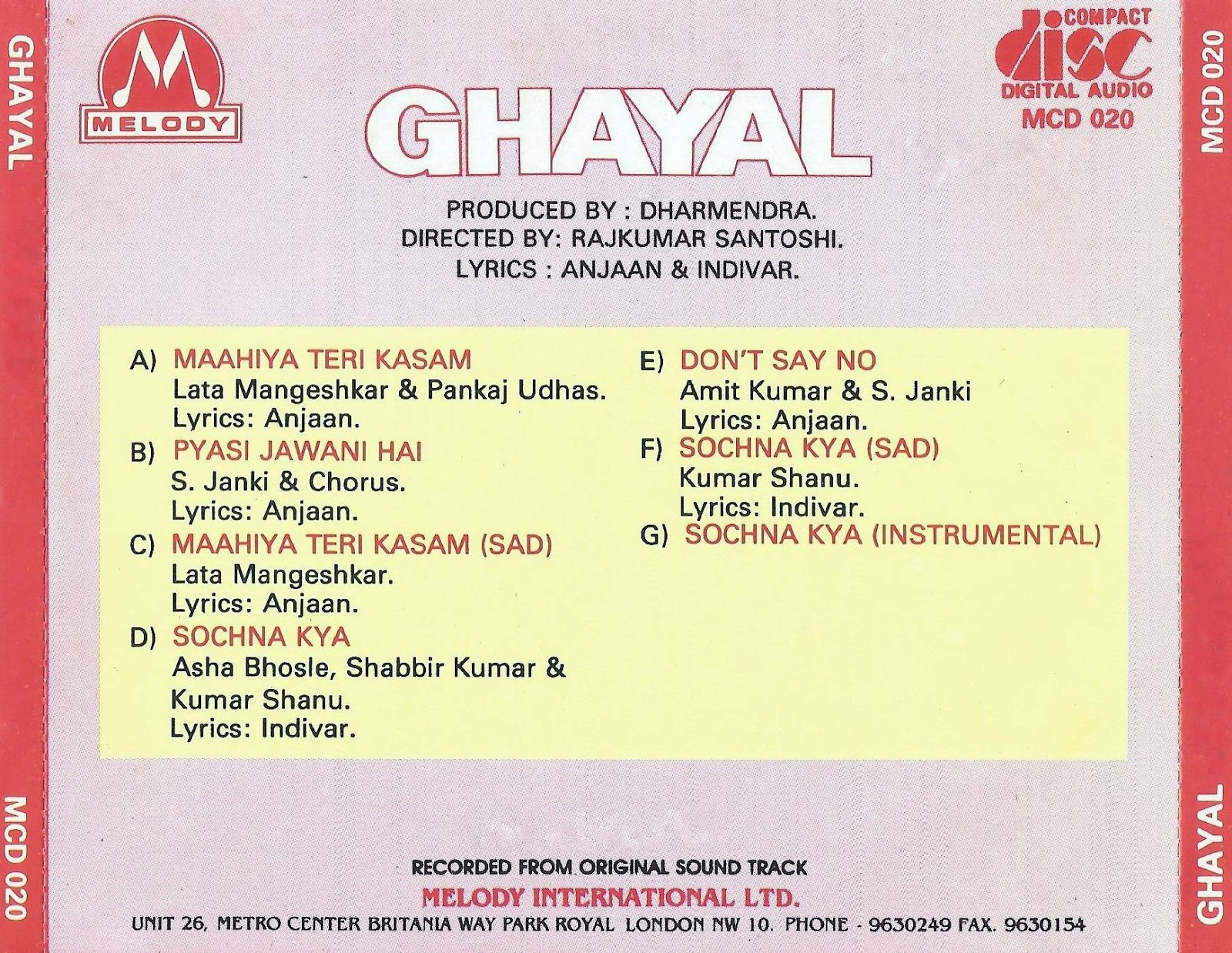 Bollywood Movies Flac, Mp3 Songs Downloaded Here    : Movie