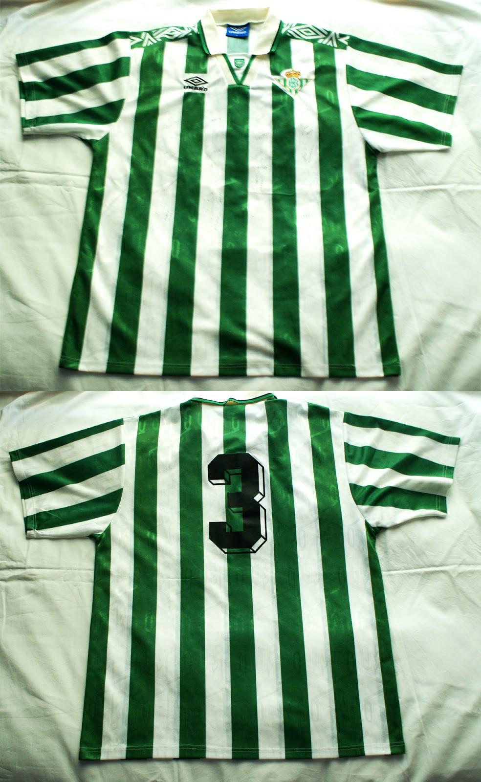 1º Camiseta Real Betis Balompié 1994 dc374f4c62b3a