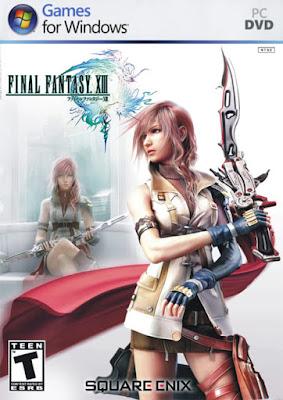 Capa do Final Fantasy XIII