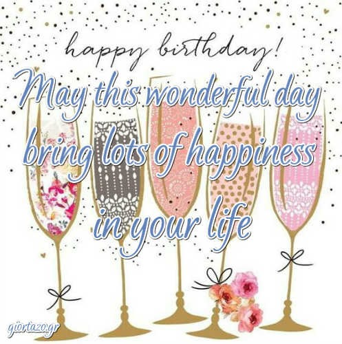 Best Happy Birthday Wishes May this wonderful day