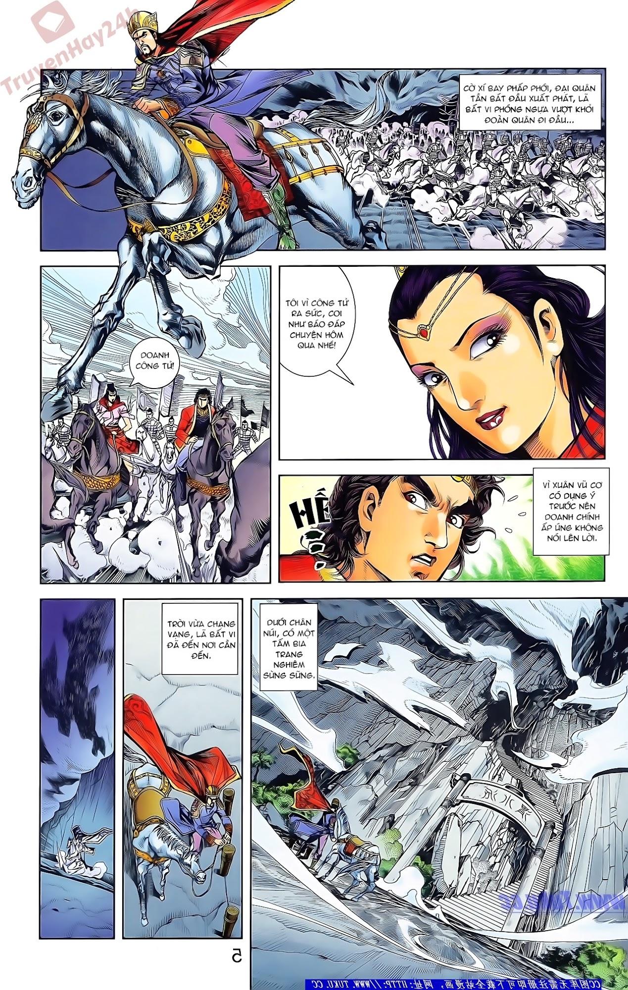 Tần Vương Doanh Chính chapter 47 trang 19