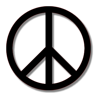 .png: peace symbol (Transparent background)